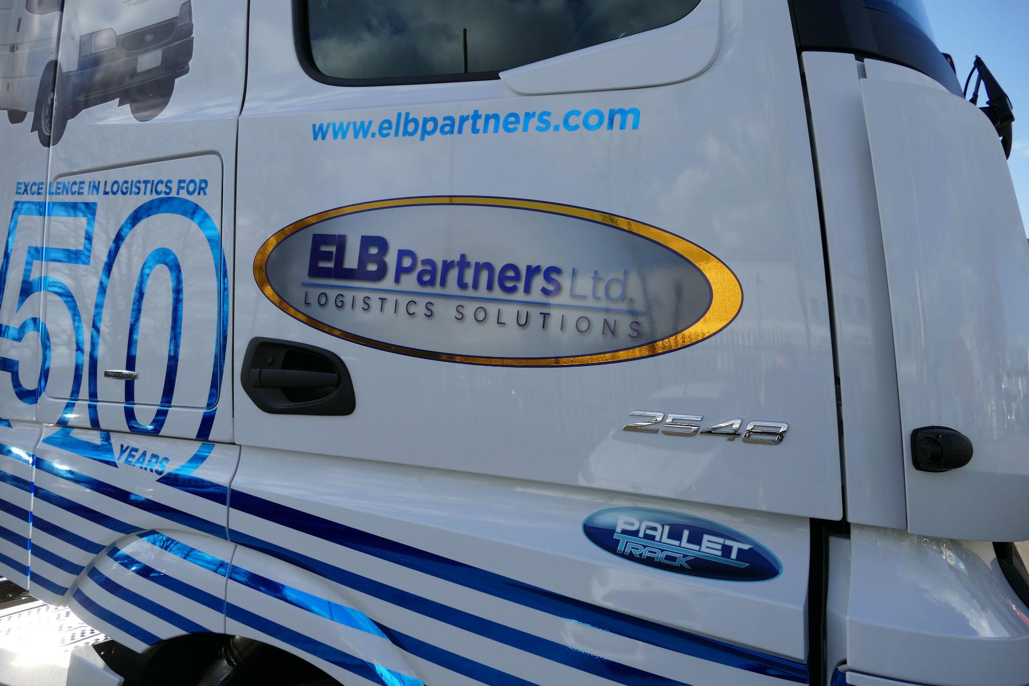 ELB Partner 50th anniversary truck